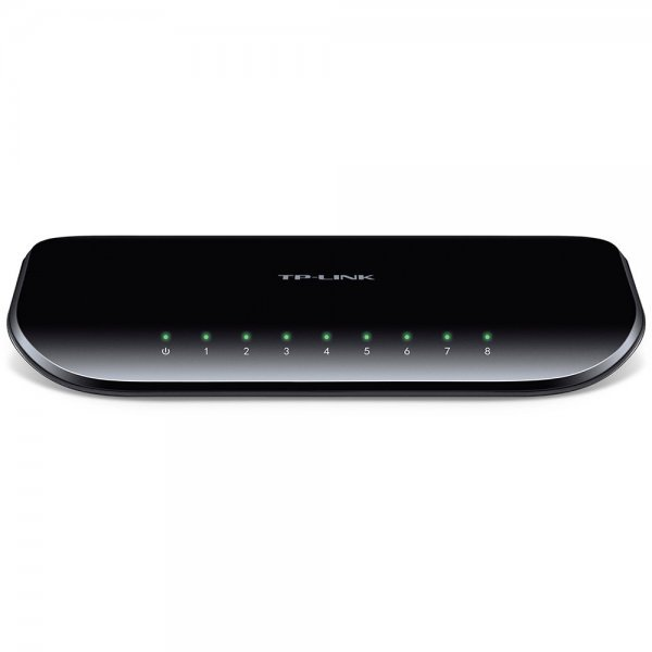 Switch 8 portas 10/100/1000 GIGABIT TL-SG1008D TP-Link