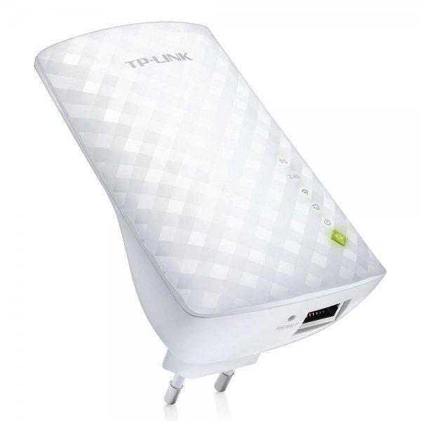 Repetidor TP-Link WiFi Range Extender AC750 2.4GHz até 300Mpbs - RE200