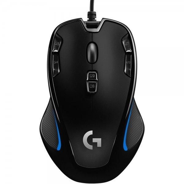 Mouse Gamer USB 2500 DPI G300S Logitech