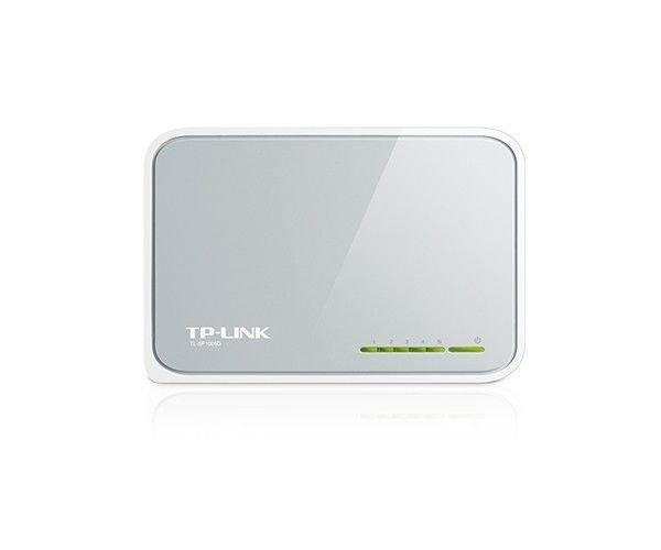 Switch TP Link de mesa 5 Portas de 10/100mbps TL-SF1005D