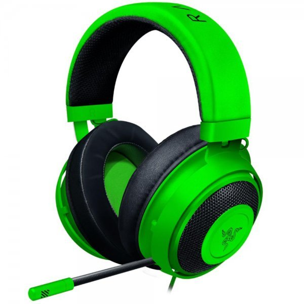 Headset Gamer Razer Kraken Multi Platform, P2, Drivers 50mm, Green - RZ04-02830200-R3U1