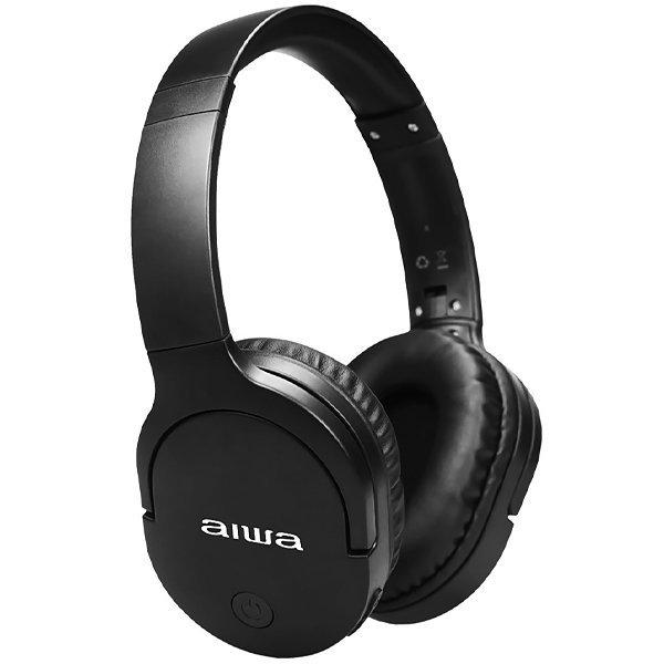 Fone de Ouvido Sem Fio Aiwa AWK11B com Bluetooth e Auxiliar
