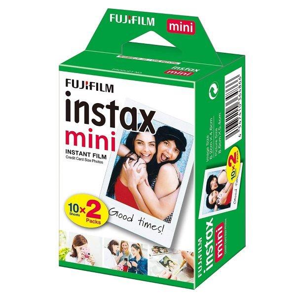 Filme Instax Mini com 20 Fotos - Fujifilm