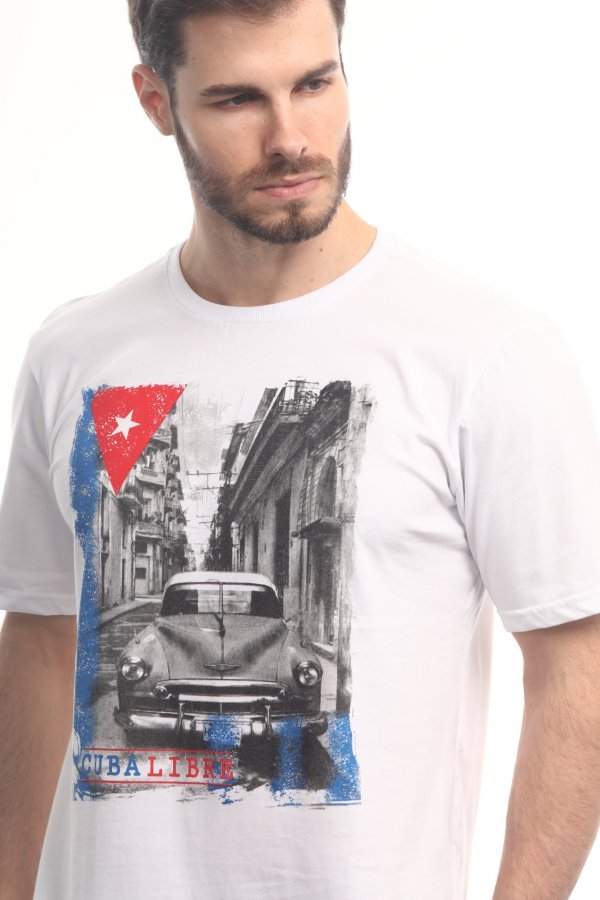 CAMISETA CUBA LIBRE