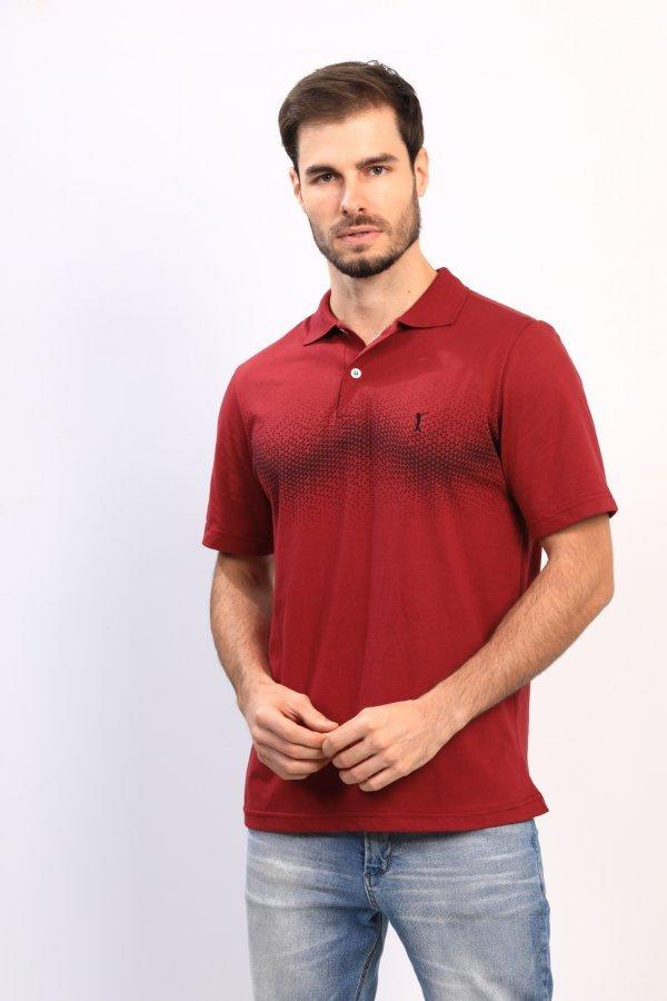 Camisa Polo Estampada Head Play