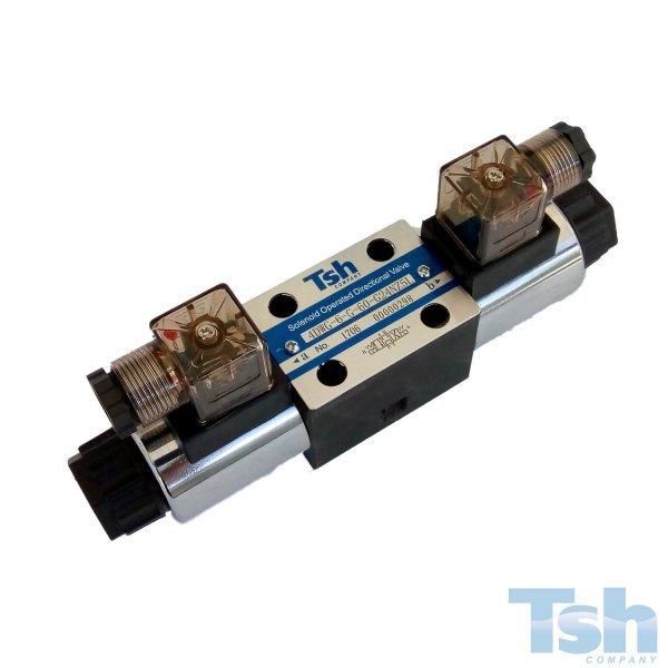 Válvula Direcional Modular 4/3 Vias TN6 24V 60L/min 315bar