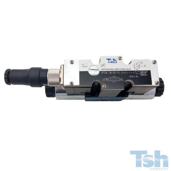Válvula Direcional Proporcional 4/3V TN6 24V 15L/min 350bar