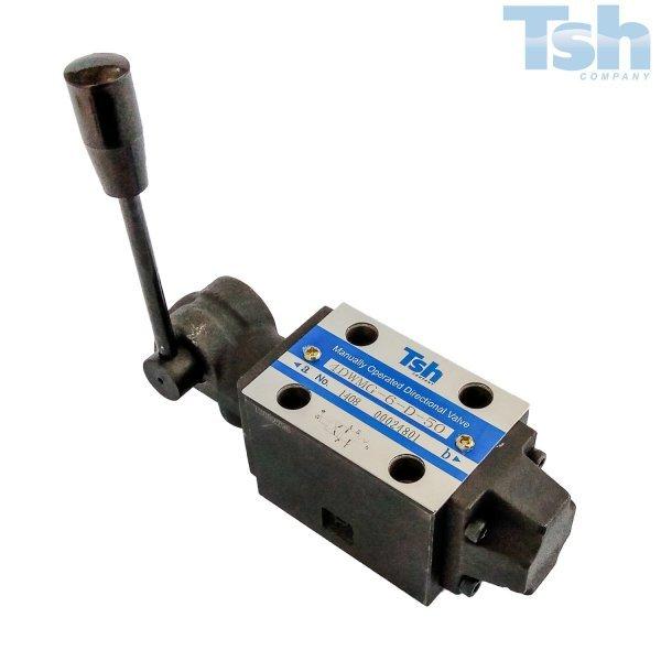 Válvula Direcional Modular 4/2 Vias TN6 60L/min 315bar