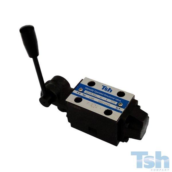 Válvula Direcional Modular 4/3 Vias TN6 60L/min 315bar
