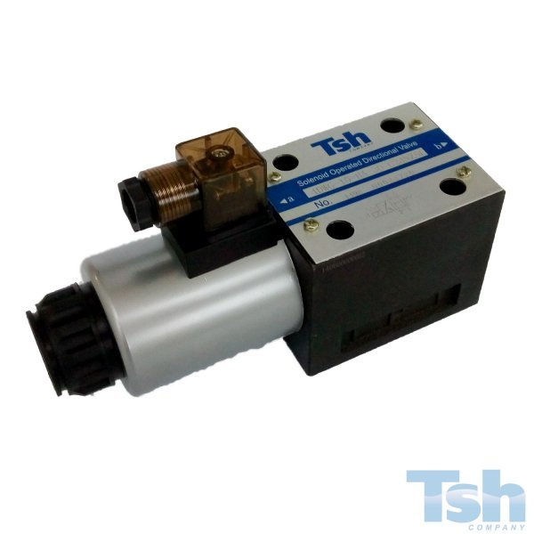 Válvula Direcional Modular 4/2 Vias TN10 24V 120L/min 315bar