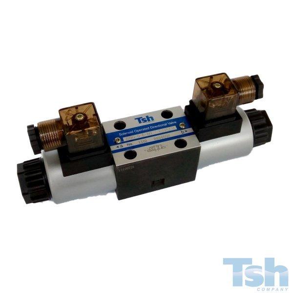 Válvula Direcional Modular 4/3 Vias TN6 220V 60L/min 315bar