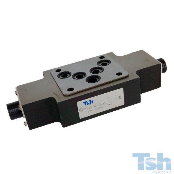 Válvula Controle de Fluxo Modular TN10 160L/min 315bar