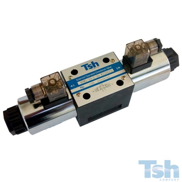 Válvula Direcional Modular 4/3 Vias TN10 220V 120L/min