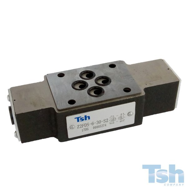 Válvula Controle de Fluxo Modular TN6 80L/min 315bar