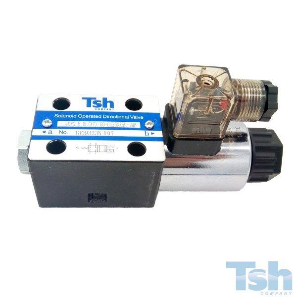 Válvula Direcional Modular 4/2 Vias TN6 125V 60L/min 320bar