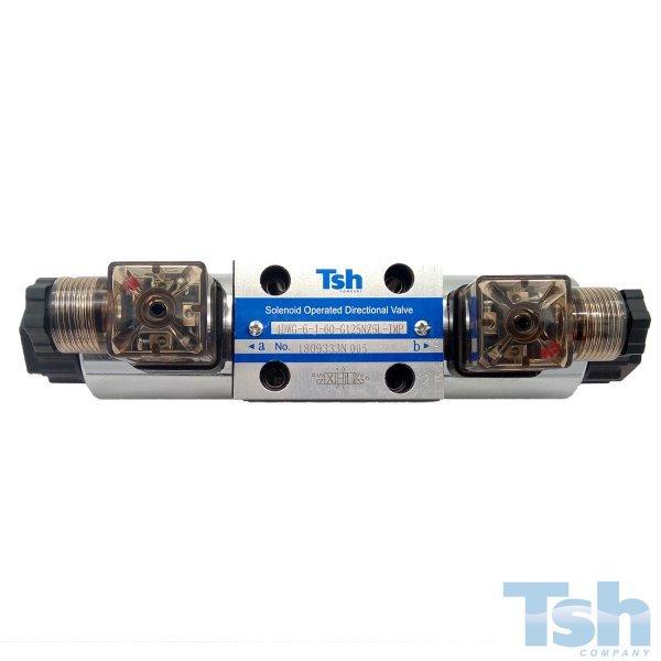 Válvula Direcional Modular 4/3 Vias TN6 125V 60L/min 315bar