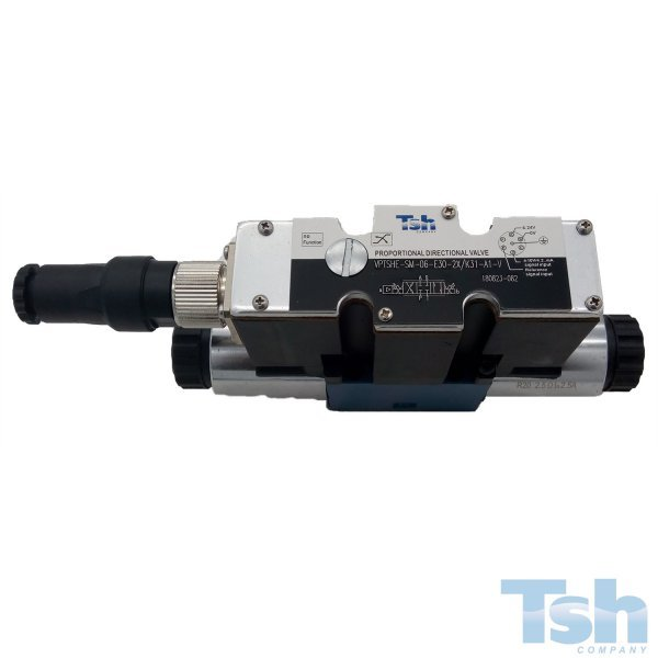 Válvula Direcional Proporcional 4/3V TN6 24V 26L/min 350bar