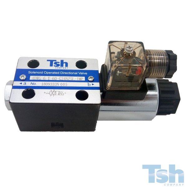 Válvula Direcional Modular 4/2 Vias TN6 24V 60L/min 320bar