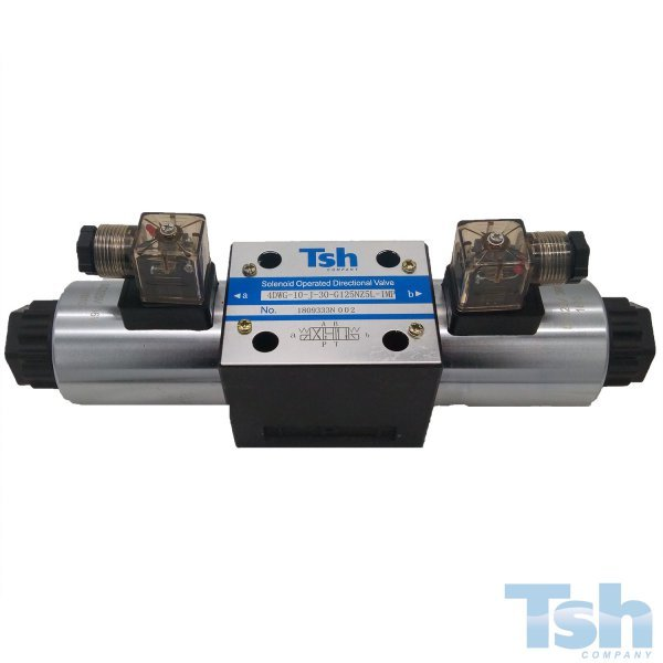 Válvula Direcional 4/3 Vias TN10 125V 120L/min 315bar