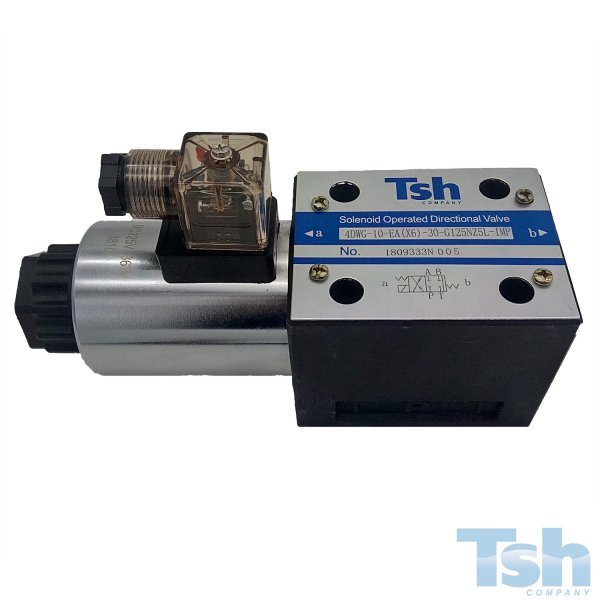 Válvula Direcional 4/2 Vias TN10 125V 120L/min 315bar