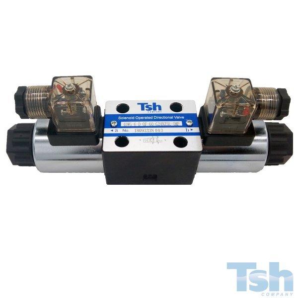 Válvula Direcional Modular 4/2 Vias TN6 24VDC 60L/min 320bar