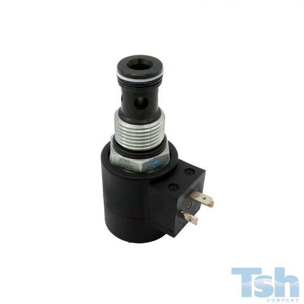 Válvula Direcional 2/2 Vias Cav12 24V 110L/min 250bar