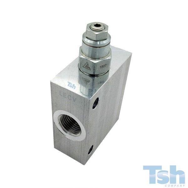 Válvula Contrabalanço 60L/min 70~280bar com Bloco 1/2