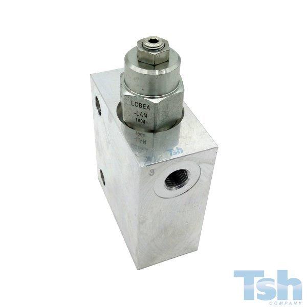 Válvula Contrabalanço 120L/min 70~280bar com Bloco 1/2
