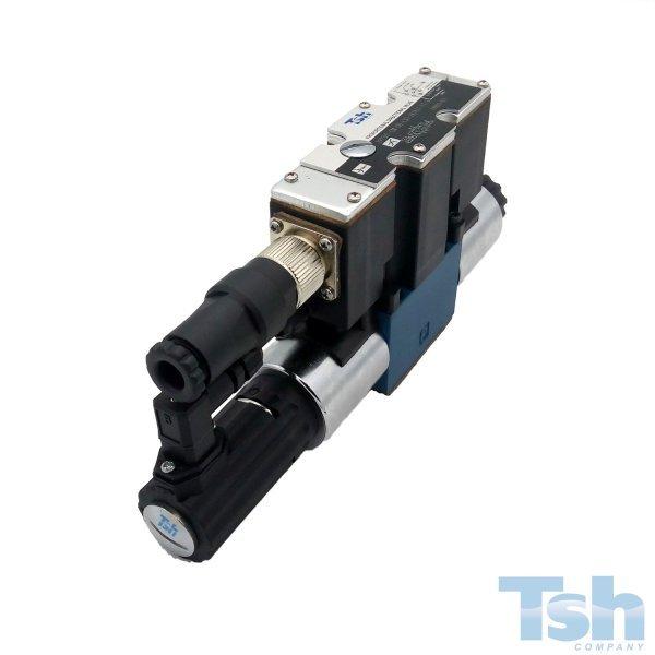 Válvula Direcional Proporcional Monitorada 4/3V TN10 24V