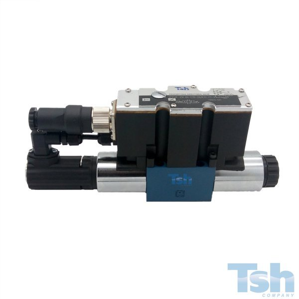 Válvula Direcional Proporcional Monitorada 4/3 TN6 24V