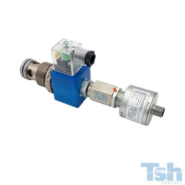 Válvula Direcional Cartucho Monitorada 2/2 Vias 24V 150L/min