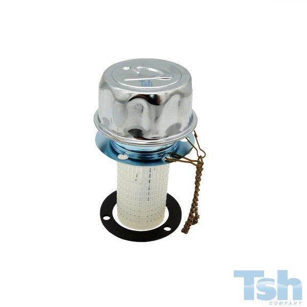 Bocal de Enchimento de Tanque com Filtro 400µ 150 L/min