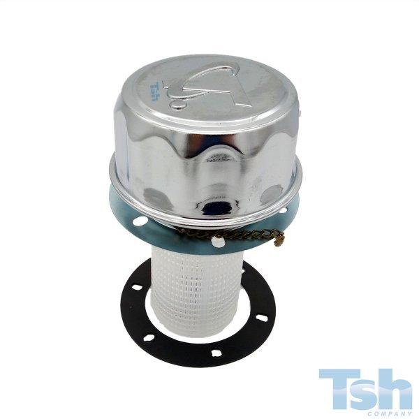 Bocal de Enchimento de Tanque com Filtro 400µ - 400L/min