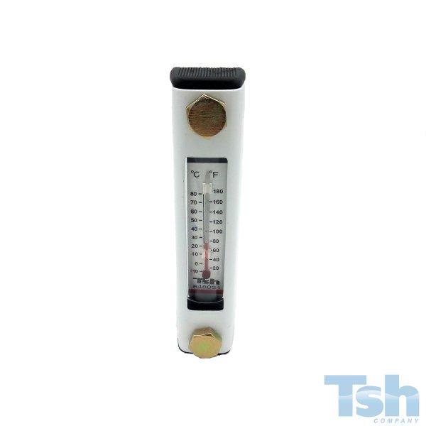 Visor de Nível com Termômetro 127 mm - M12