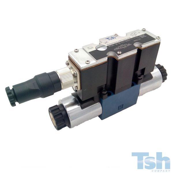 Válvula Direcional Proporcional 4/3V TN10 24V 60L/min 350bar