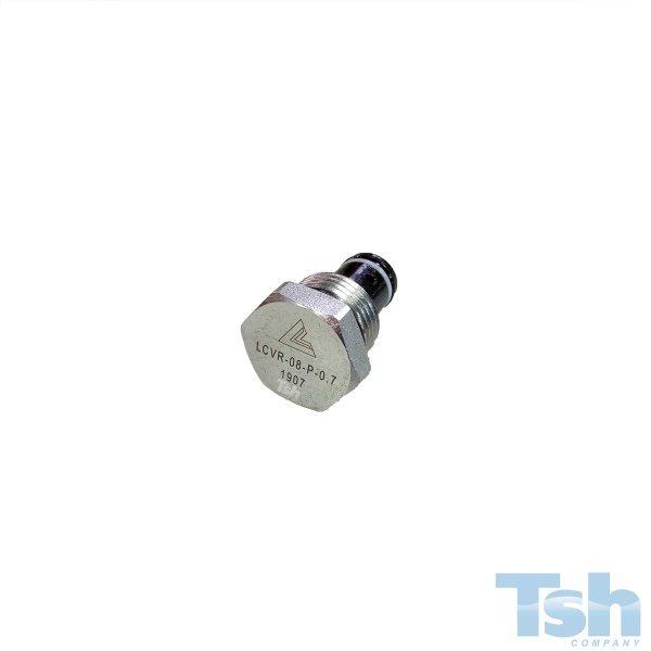 Válvula de Retenção Hidráulica Reversa CAV8 28L/min 350bar