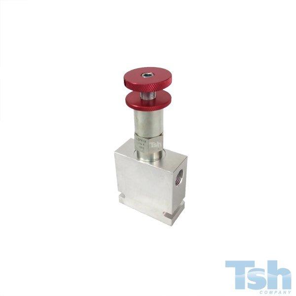 Válvula Redutora de Pressão CAV8 11L/min 21~83bar com Bloco
