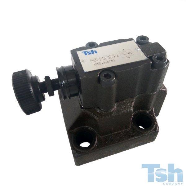 Válvula Hidráulica Limitadora de Placa TN20 500L/min 315bar