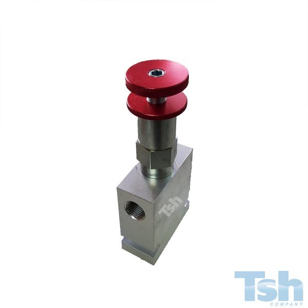 Válvula Redutora de Pressão CAV8 11L/min 34~152bar com Bloco