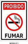 Placa Proibido Fumar 14x20 ou 20x28