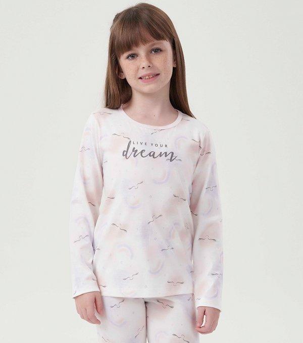 Pijama Manga Longa Infantil - 40646