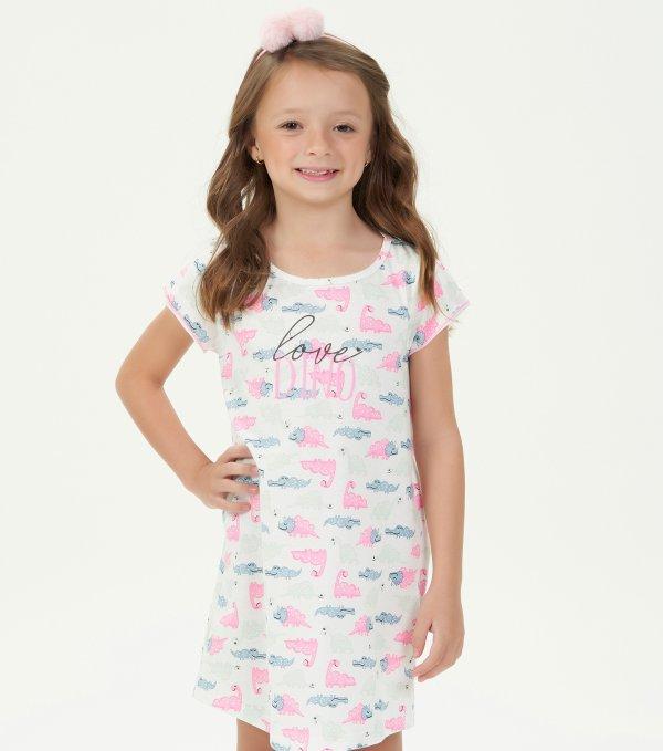 Camisola Manga Curta Infantil - 40741