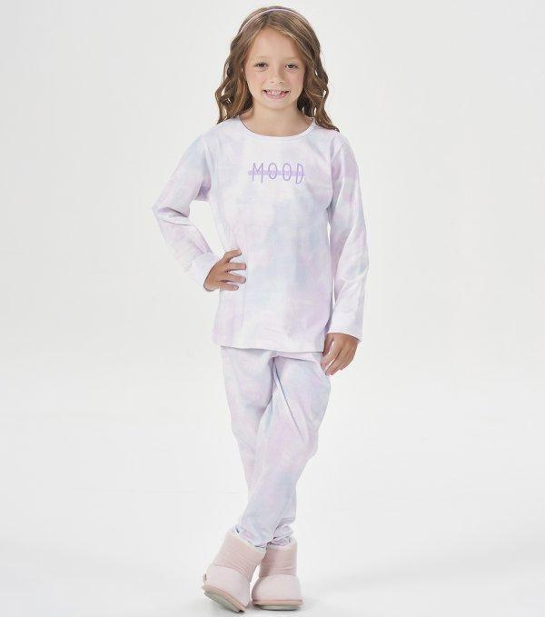 Pijama Manga Longa Infantil - 40837