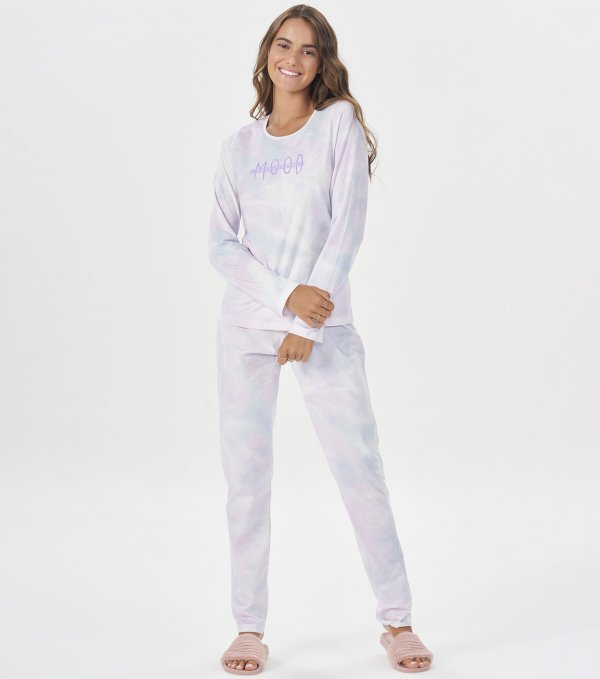Pijama Manga Longa - 40836