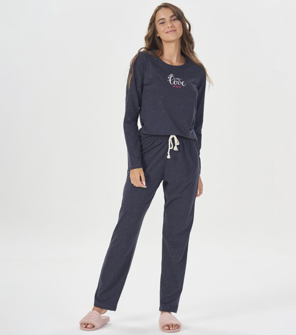 Pijama Manga Longa - 40859