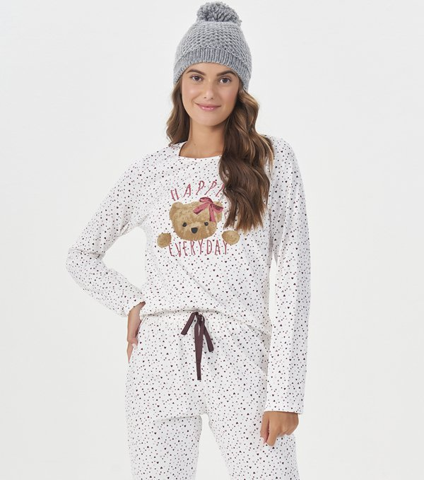 Pijama Manga Longa - 40864