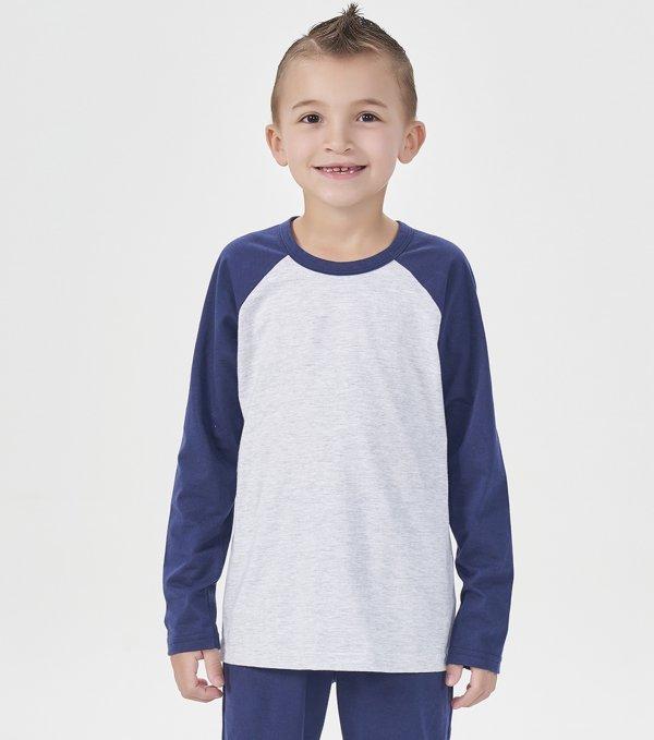 Pijama Manga Longa Infantil - 40881