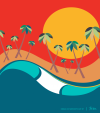 BABYLOOK SURF - ONDAS DO NORDESTE BY TOM VEIGA