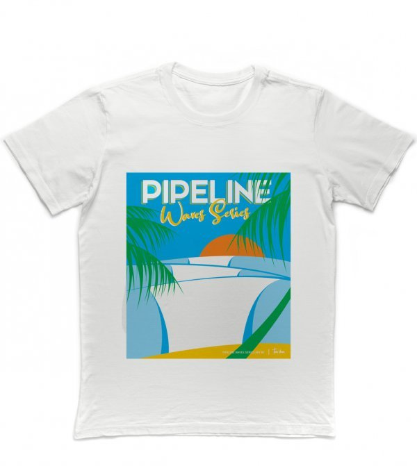 CAMISETA SURF - PIPELINE WAVES SERIES BY TOM VEIGA