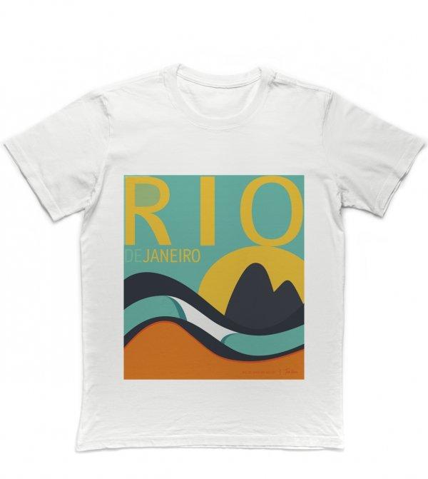 CAMISETA SURF REGULAR - RIO DE JANEIRO BY TOM VEIGA